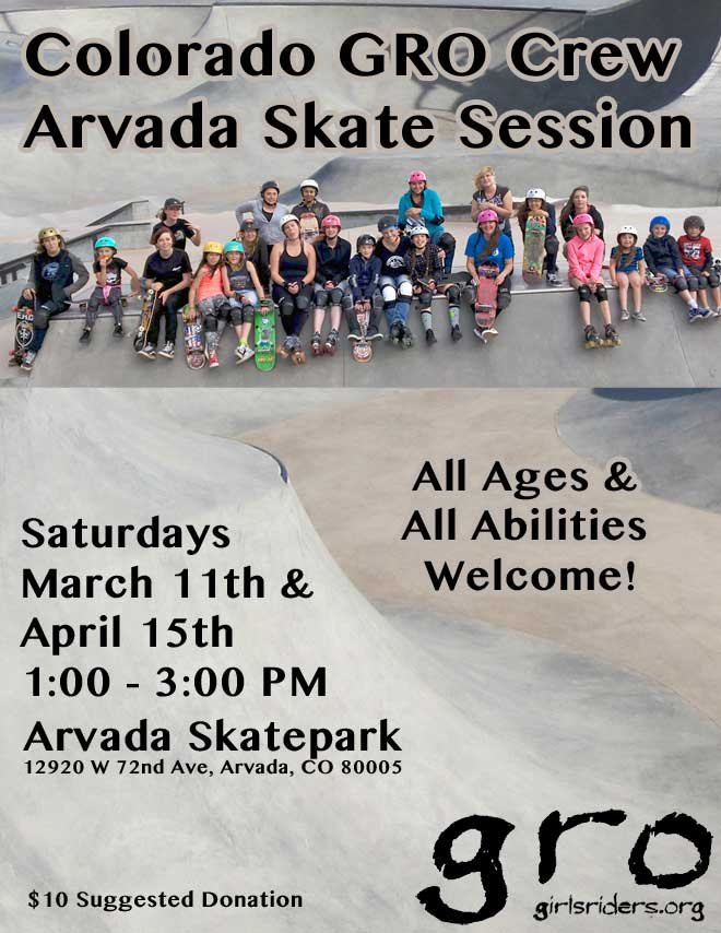 Colorado GRO Skate Sessions