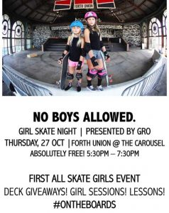 GRO NJ Forth Union Skate Event