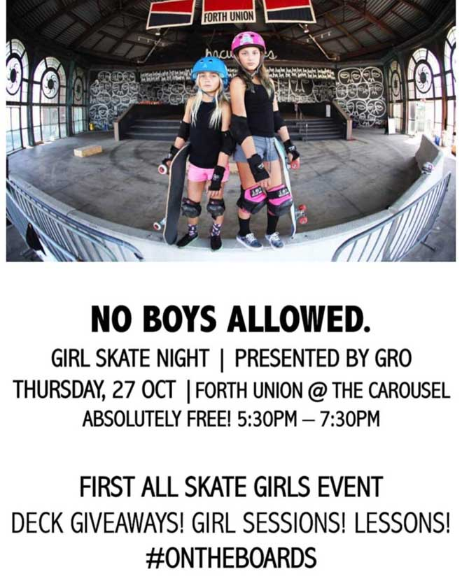 GRO NJ Forth Union Skate Event