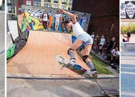 Niki Culma Skate NYC