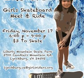 GRO Crew Session November Liberty Mountain Skatepark